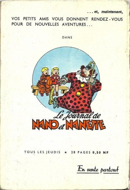 The TOODLES/NANO et NANETTE Verso571