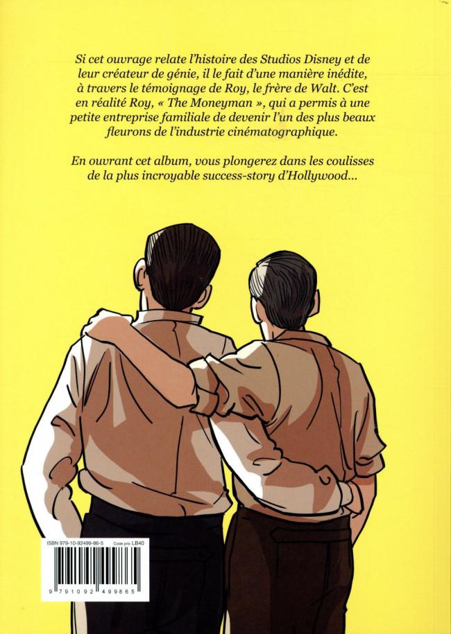 Bel et intéressant ouvrage traitant  de Walt Disney Verso617