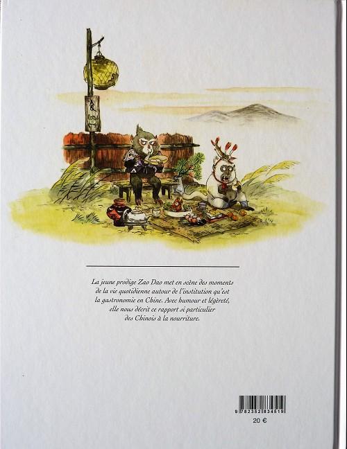 Bandes dessinées et cuisine Verso622