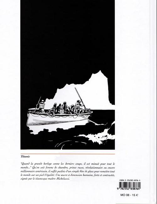 14/15 AVRIL 1912 : Naufrage du R.M.S.TITANIC  Verso_73