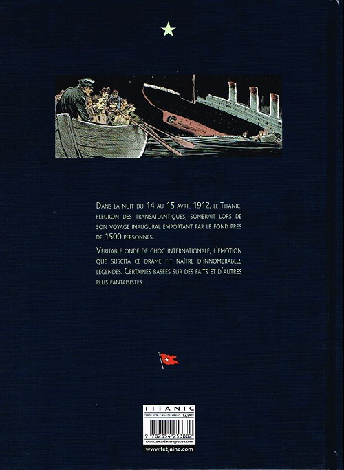 14/15 AVRIL 1912 : Naufrage du R.M.S.TITANIC  Verso_75