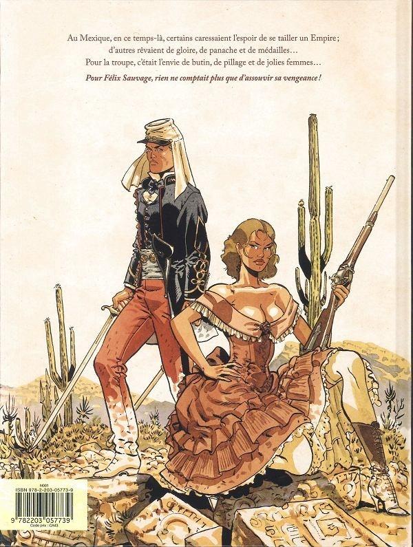 30 Avril 1863 CAMERONE (Camaron de Tejeda ) Mexique  Verso_81