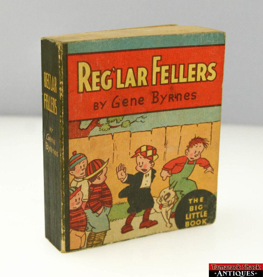 Reg'lar Fellers par Gene Byrnes Vtg-1910