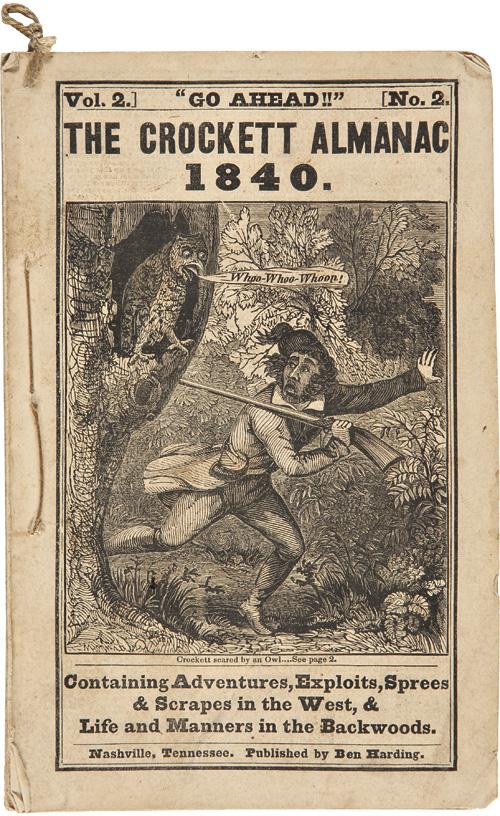 David Stern CROCKETT (1786-1836 ) Wrcam510