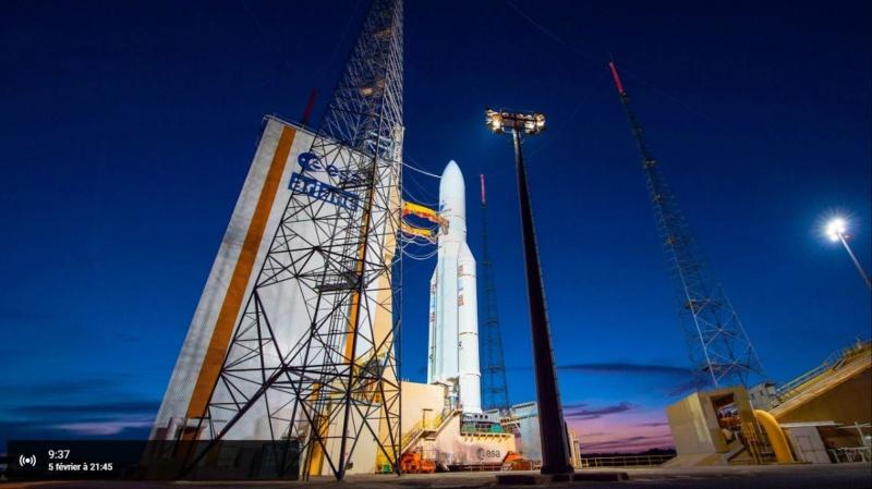 Ariane 5 VA247 (HS-4/SGS-1 + GSAT-31) - 5.2.2019 Ar110