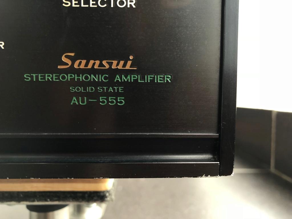 Sansui AU-555 Amplifier Img_5210