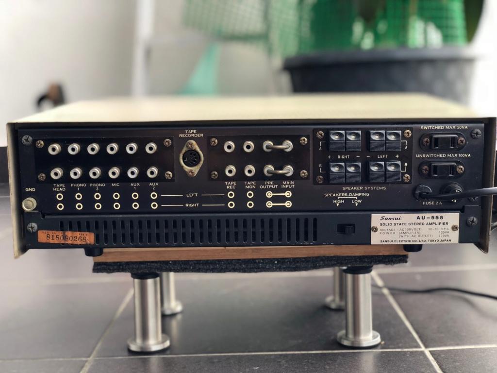 Sansui AU-555 Amplifier Img_5212