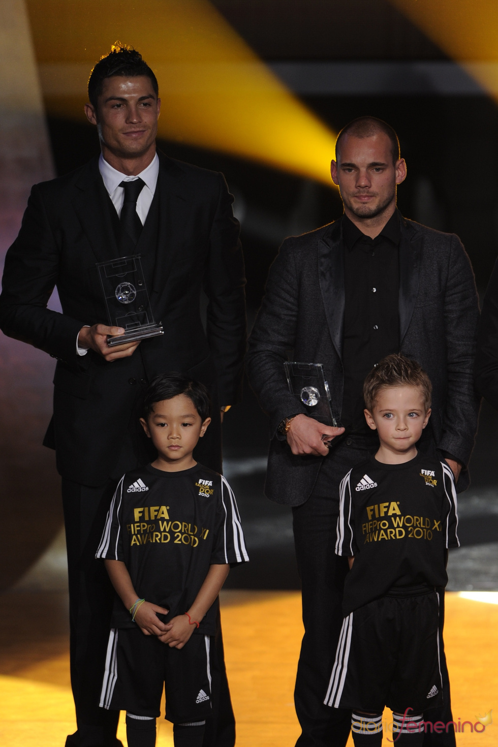 ¿Cuánto mide Wesley Sneijder? - Real height 12787_10
