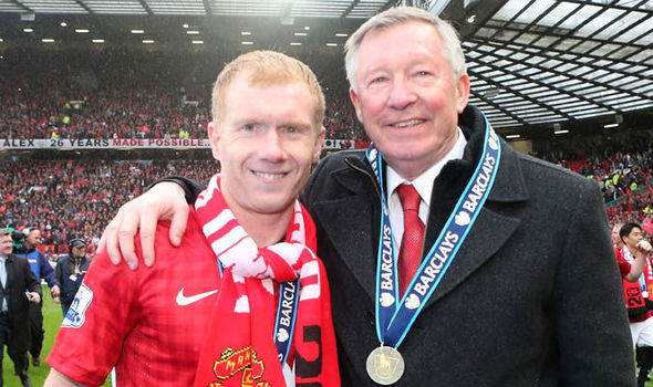 ¿Cuánto mide Paul Scholes? - Real height Manche10