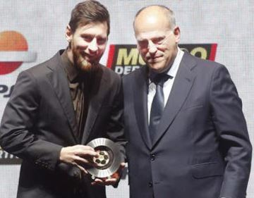 ¿Cuánto mide Javier Tebas? - Altura Messi-10