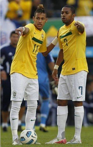 ¿Cuánto mide Robinho? - Altura - Real height Neymar10