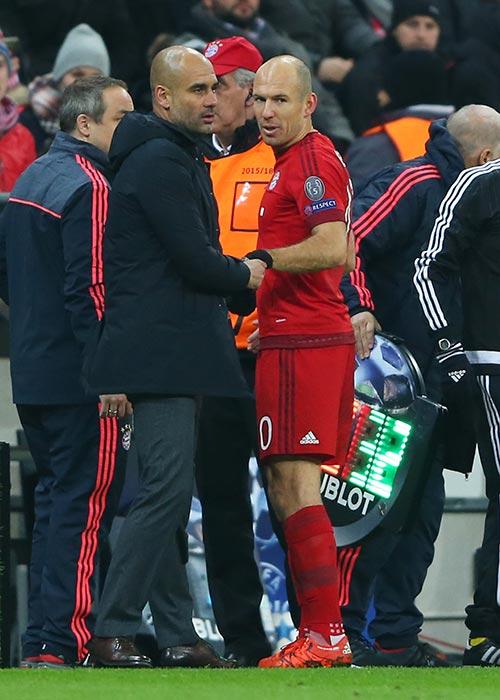 ¿Cuánto mide Arjen Robben? - Altura - Real height Robben10