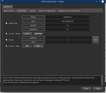 Driver INDI pour IPX800 v4 Connec10