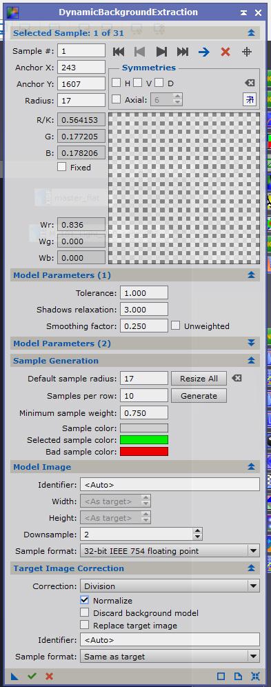 Probleme de flat et application d'un DBE Dbe10