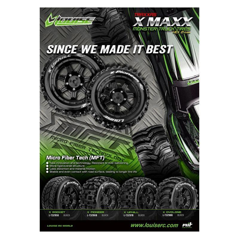 Louise RC pour X-Maxx 2-roue10