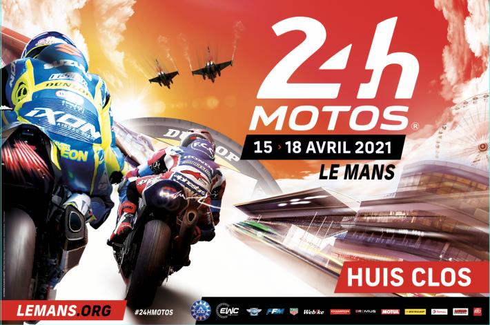 Les 24 Heures Motos 2021 à huis clos 60114210