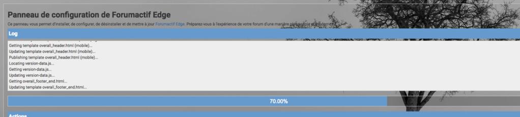 [Mise à jour] Mettre à jour Forumactif Edge Update11