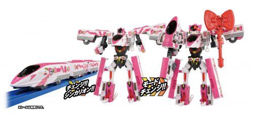 全球知名的吉祥物Hello Kitty與機器人動畫《新幹線變形機器人 Shinkalion》傳出合作消息! 20200115
