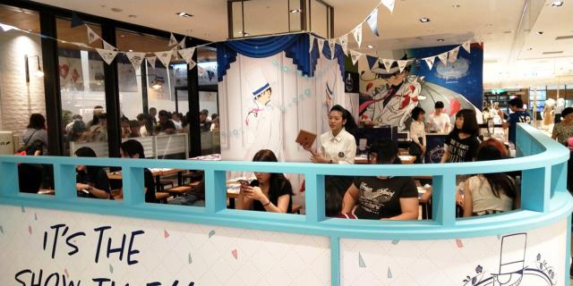 粉絲透早排隊搶頭香!怪盜基德café 9月1日首度登台! _0211