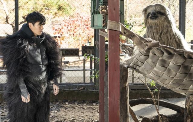 """樹懶哪有那麼大隻!動物園驚見《星際大戰》中的「丘巴卡」?! 「國民女神」姜素拉《超""""人""""氣動物園》扮「獅子」上廁所直呼太累?! 《超""""人""""氣動物園》2月14日 情人節 開放餵食 Aauaue13"""