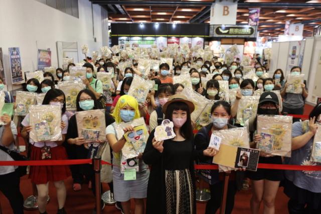 台灣漫畫新生代小天后林亭葳簽名會! 睽違兩年半新刊劇情即將進入最後尾聲 Aooana10