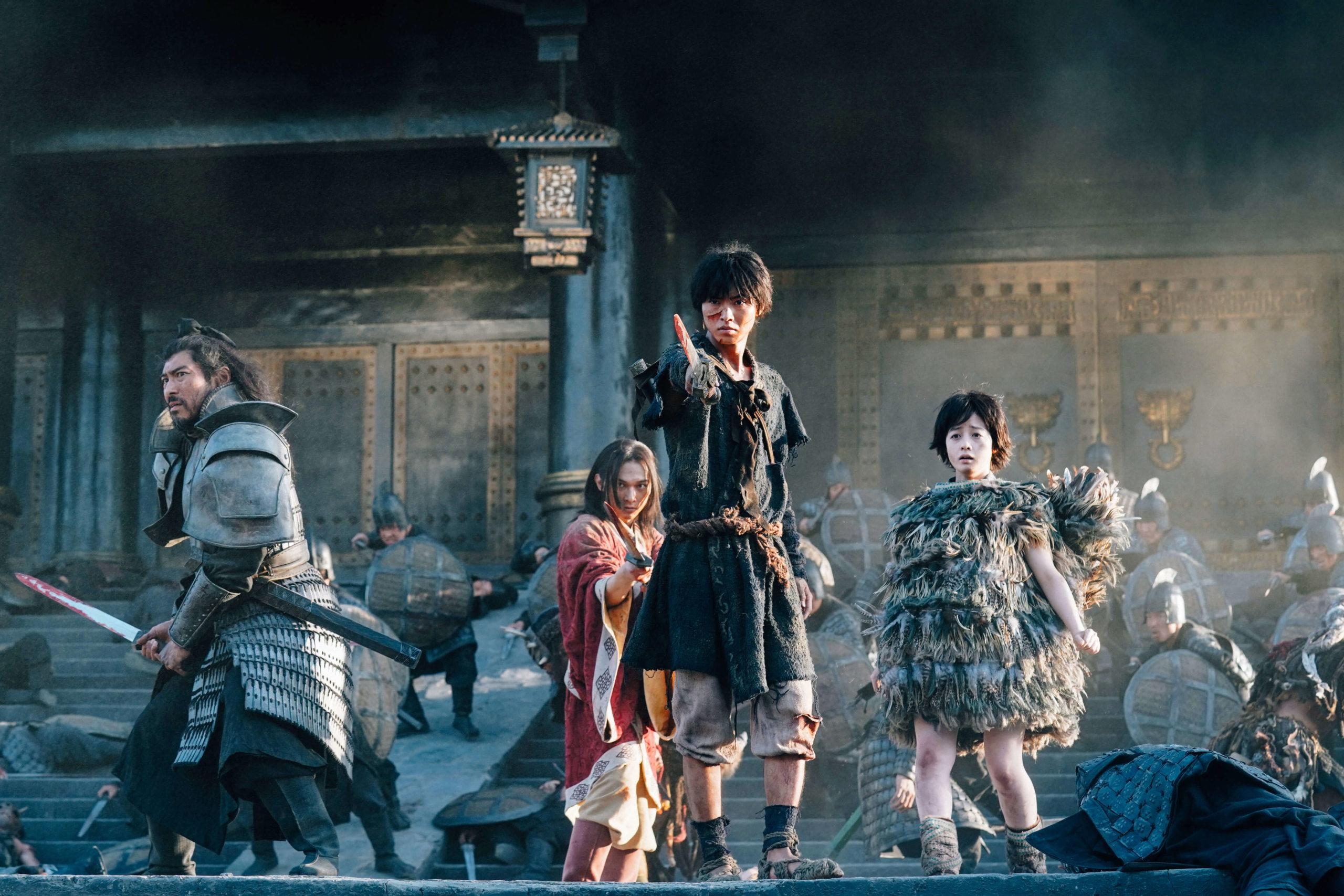 漫畫改編日本年度真人版票房冠軍電影《王者天下》即將於7月19日全台上映! Aouoaa12