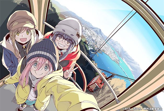 搖曳露營的短篇動畫房間露營BD將收錄「志摩凜」的短篇動畫 Bd_jk10