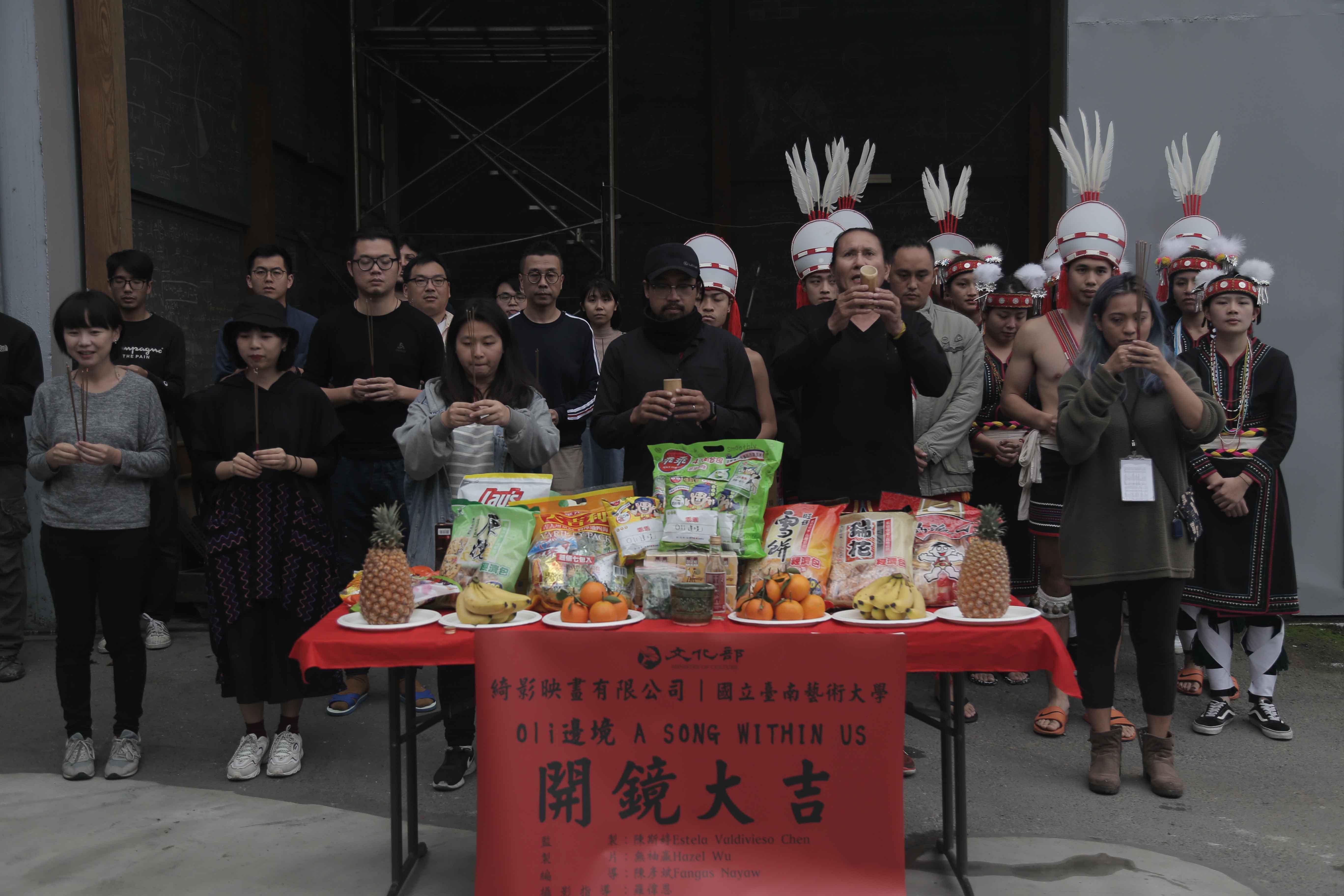 台灣VR影片國際矚目 坎城市場展吸引各國買家一探究竟 原住民音樂結合VR互動影片《Oli邊境》 驚艷各國影展選片人 Ezouao11