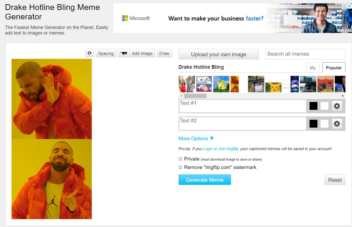 發現超強MEME製造網站imgflip!選擇模板輕鬆自動生成你的MEME!(含教學) Imgfli11