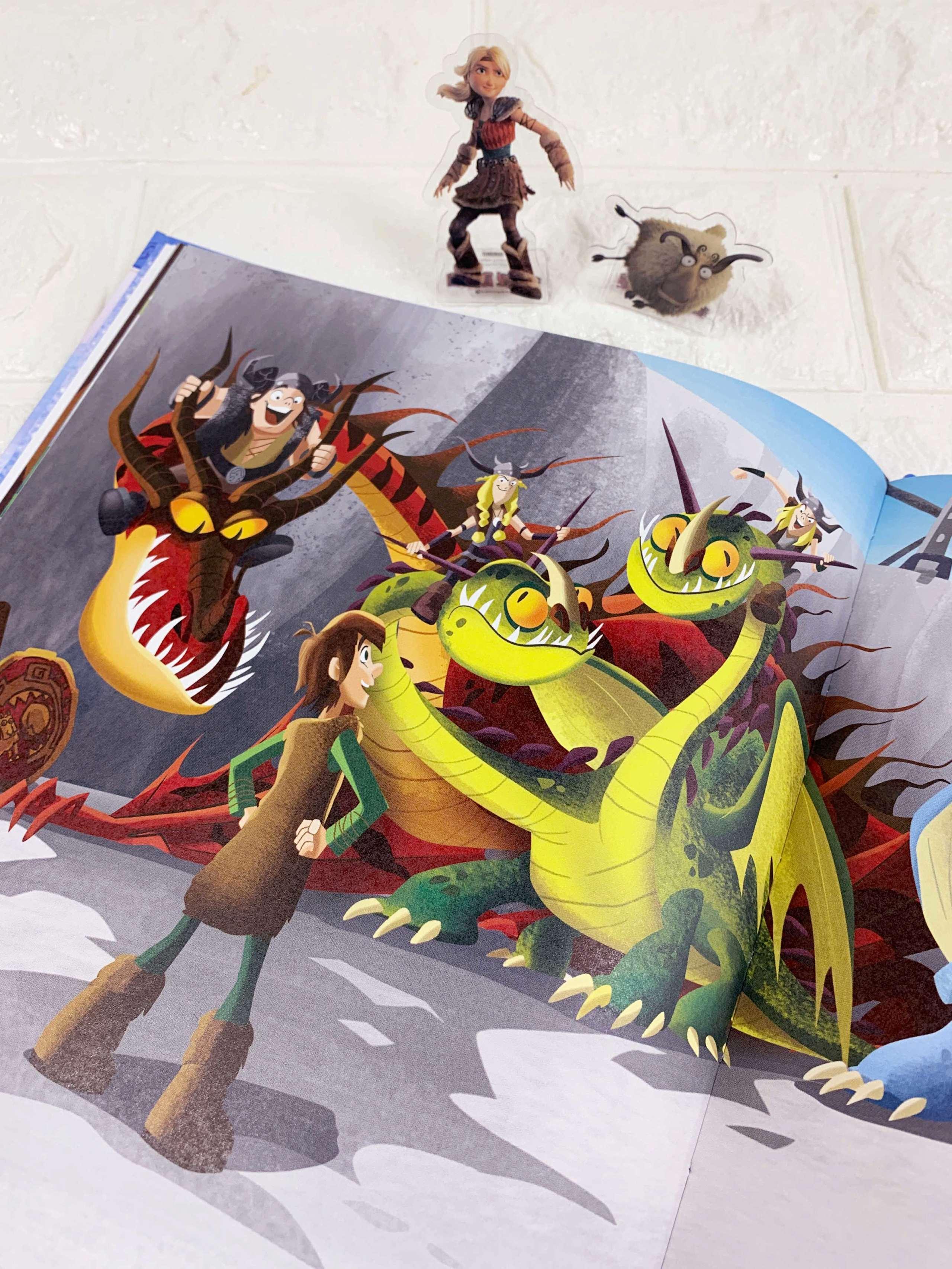 環球影業官方授權童書繪本 《馴龍高手故事繪本1:夢想的起點》 長得瘦弱矮小,就註定失敗了嗎? Iuoooo11