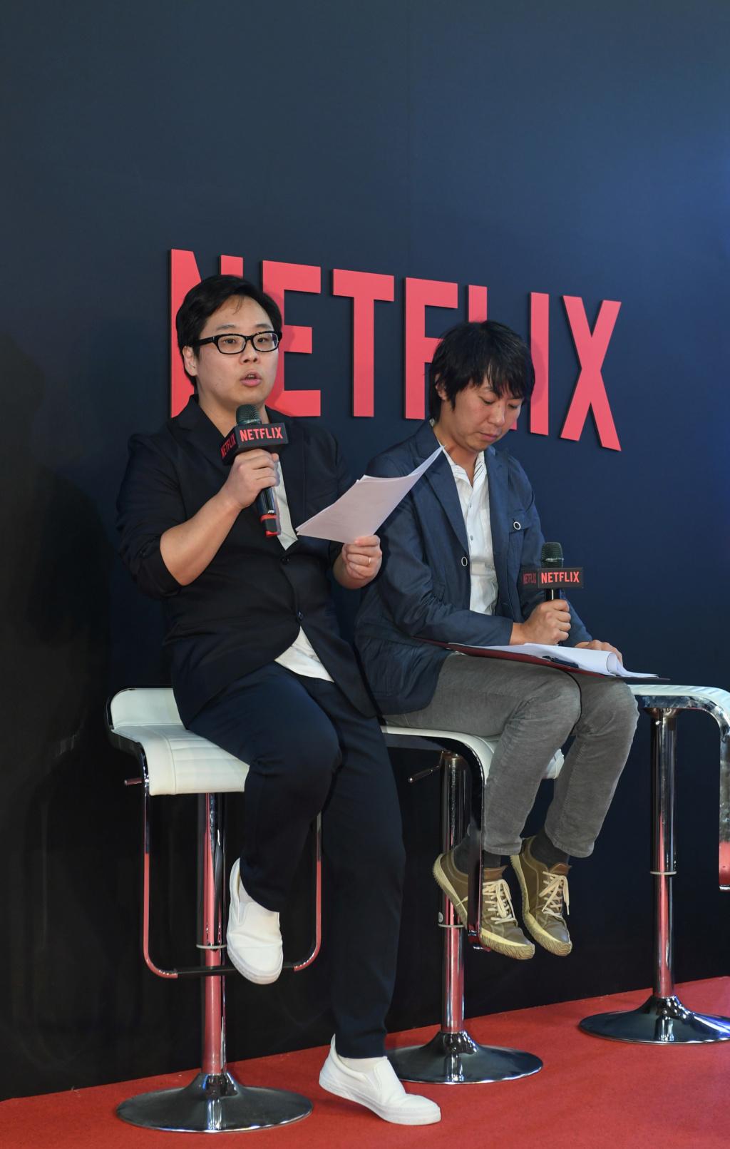 Netflix 攜手台灣西基動畫、五號影像打造全球動漫新勢力  並宣布首部由台灣團隊主導的原創動畫《伊甸》將於2020年全球問世 Taipei11