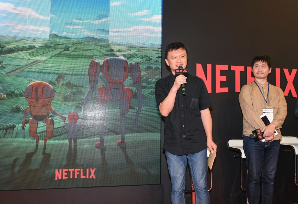 Netflix 攜手台灣西基動畫、五號影像打造全球動漫新勢力  並宣布首部由台灣團隊主導的原創動畫《伊甸》將於2020年全球問世 Taipei14