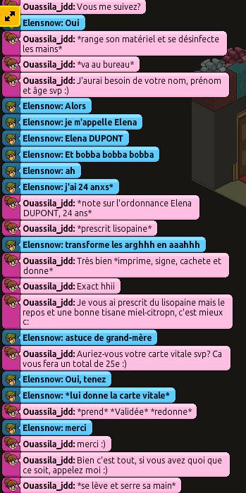 [C.H.U] Rapports d'action RP de Ouassila_jdd 236