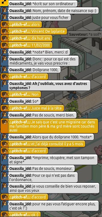[C.H.U] Rapports d'actions RP de Ouassila_jdd Rp210