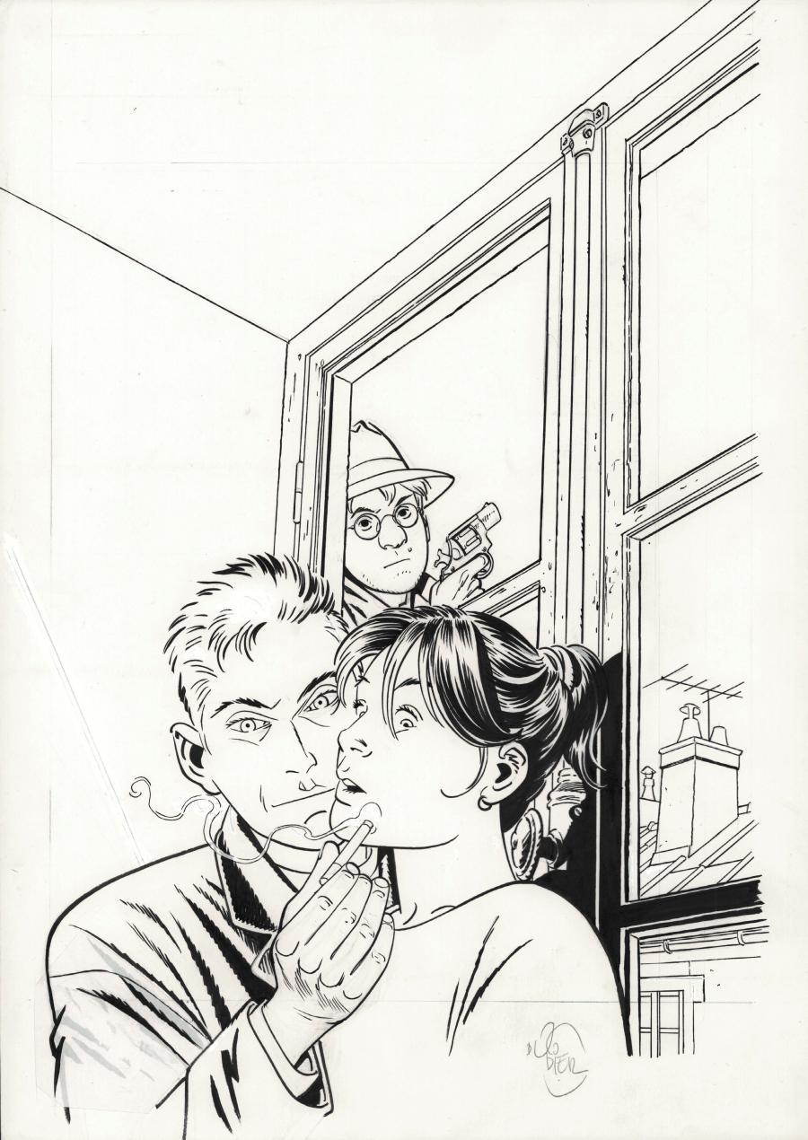 Jérôme K Jérôme Bloche DODIER - Page 3 Couver16