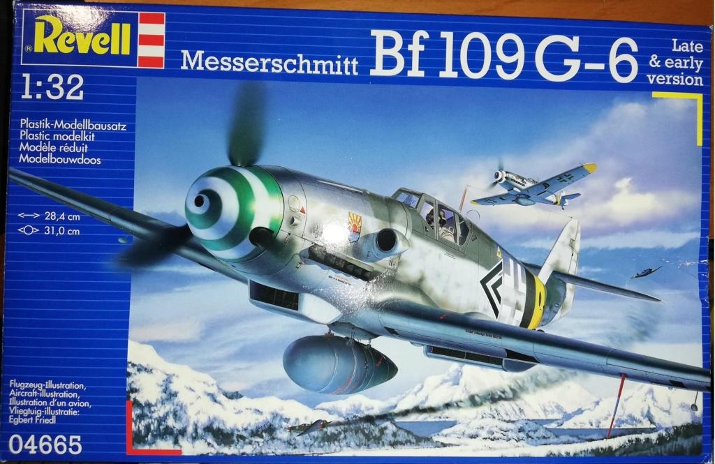 Revell 1/32 Messerschmitt BF109 - G6 par tatave Messer10