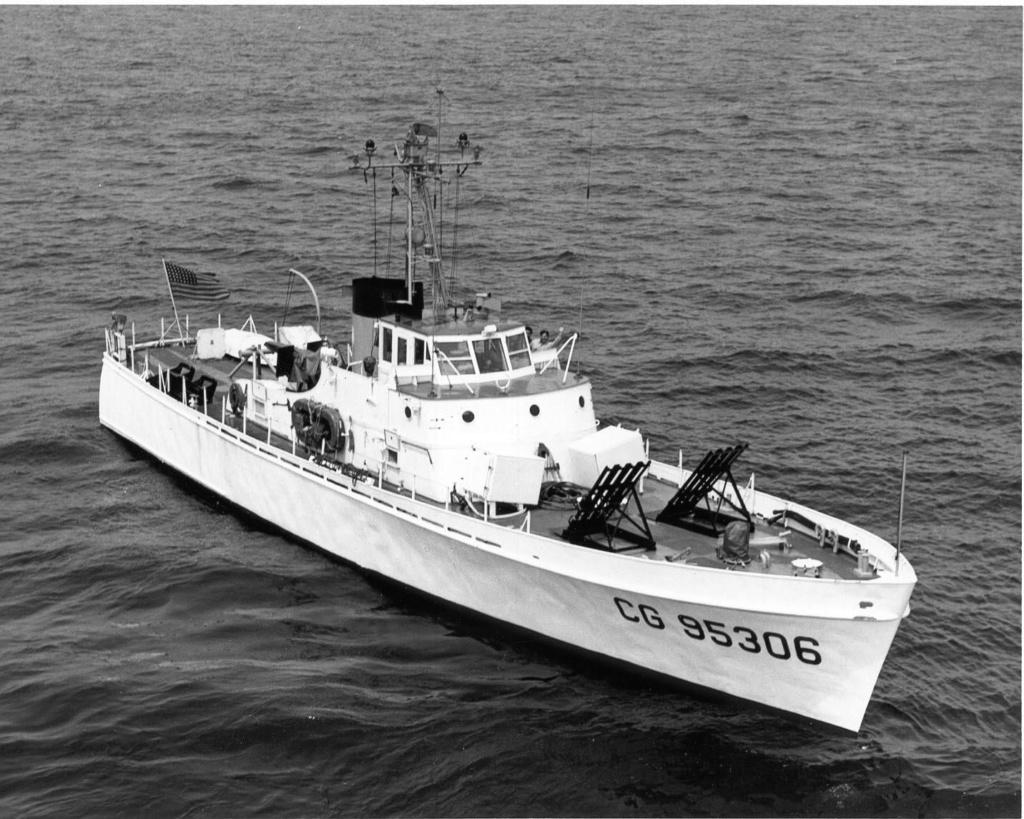 Patrouilleur de la U.S. Coast Guard : le CAPE GULL 34-010
