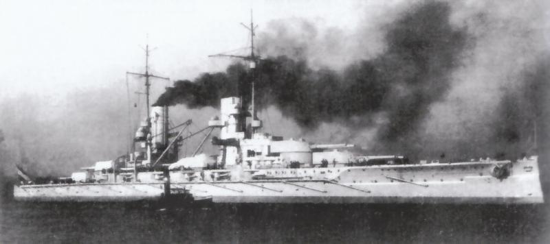 SMS Grösser Kurfürst au 1/350 d'ICM 80338210