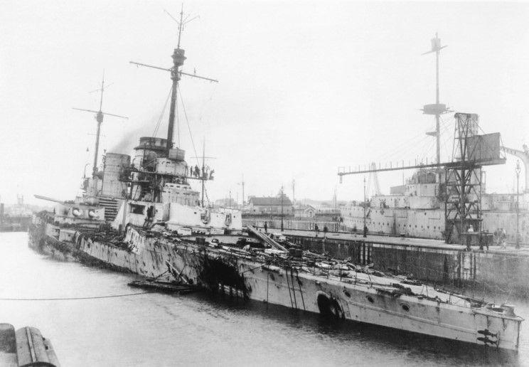 Battlecruiser SMS Seydlitz 1/350 8dfbc110