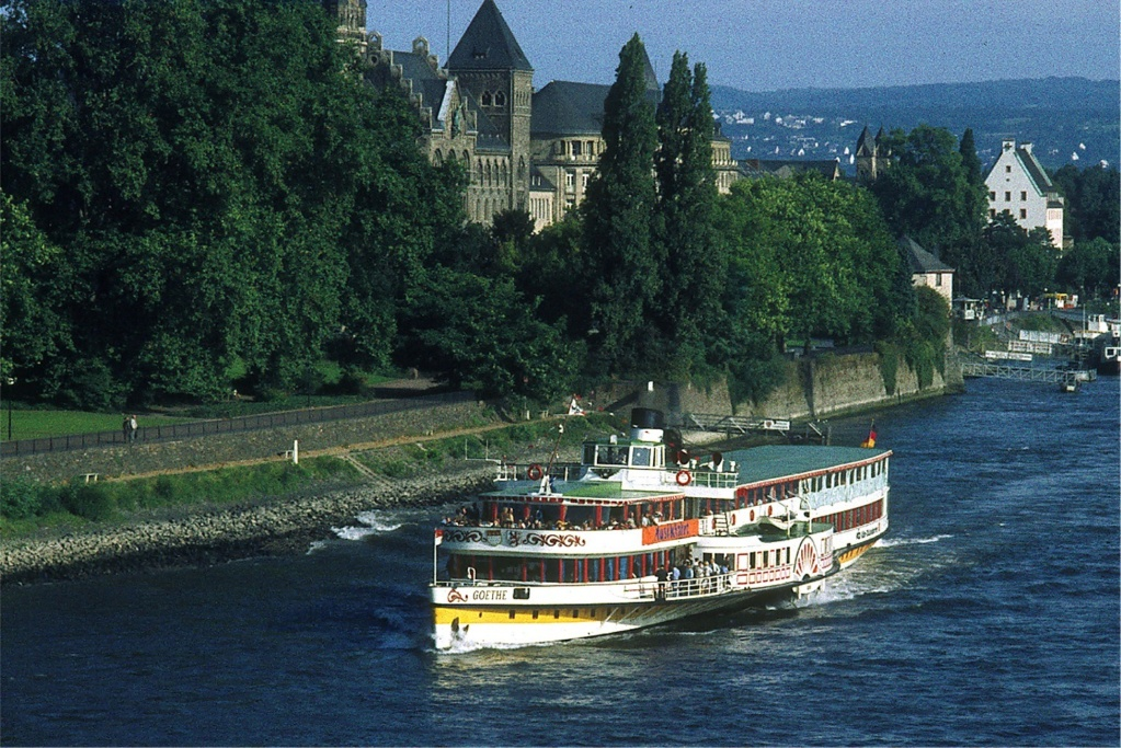 Goethe, steamer du Rhin au 1/160 Goethe10