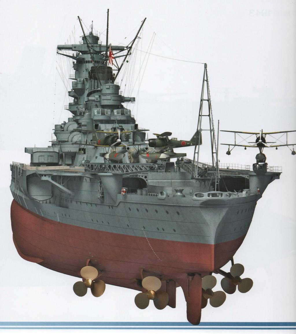 Yamato, un jour de janvier 1945 Modèle RC au 1/150 dans sa vitrine d'exposition - Page 6 Ijn_ya12