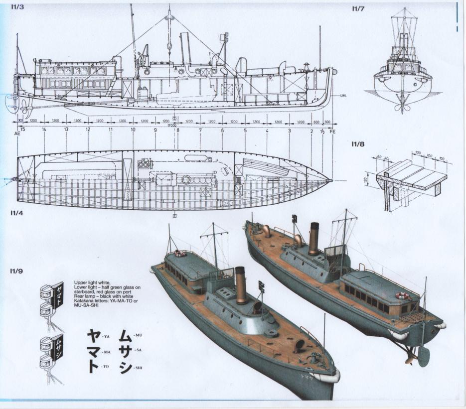 Pinasse de 17m - Marine Impériale Japonaise - 1/144 Images12