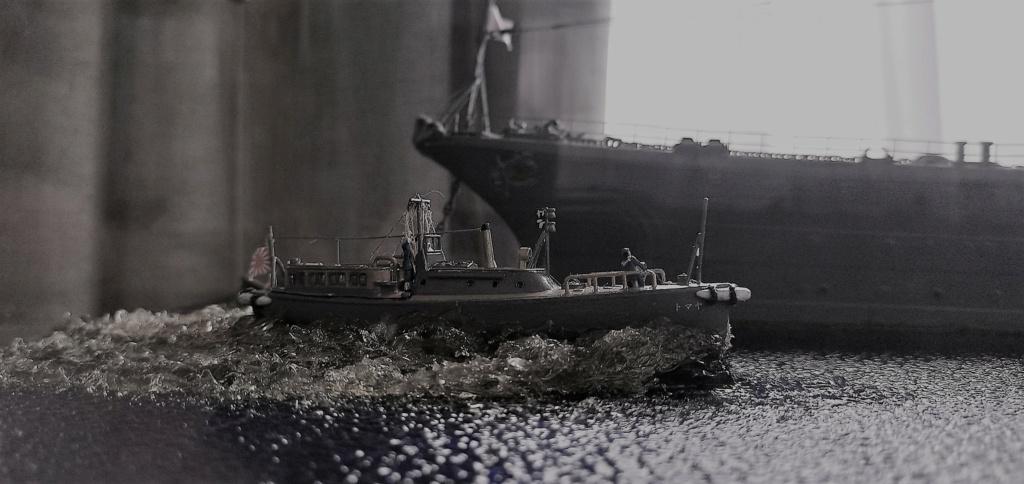 Yamato, un jour de janvier 1945 Modèle RC au 1/150 dans sa vitrine d'exposition - Page 5 Img_2060