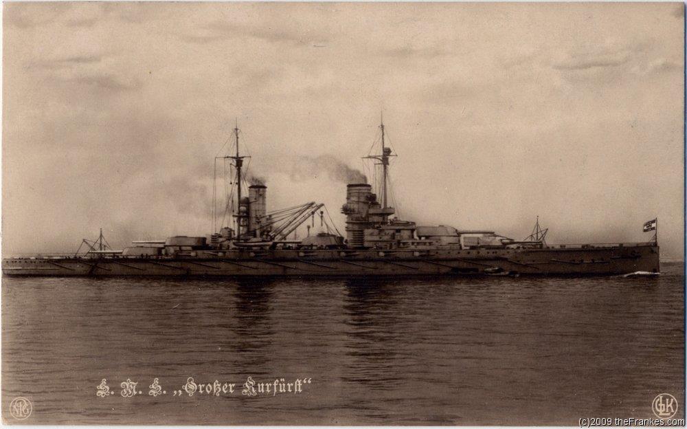 SMS Grösser Kurfürst au 1/350 d'ICM Kaiser10