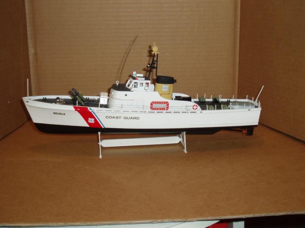Patrouilleur de la U.S. Coast Guard : le CAPE GULL Lindbe10