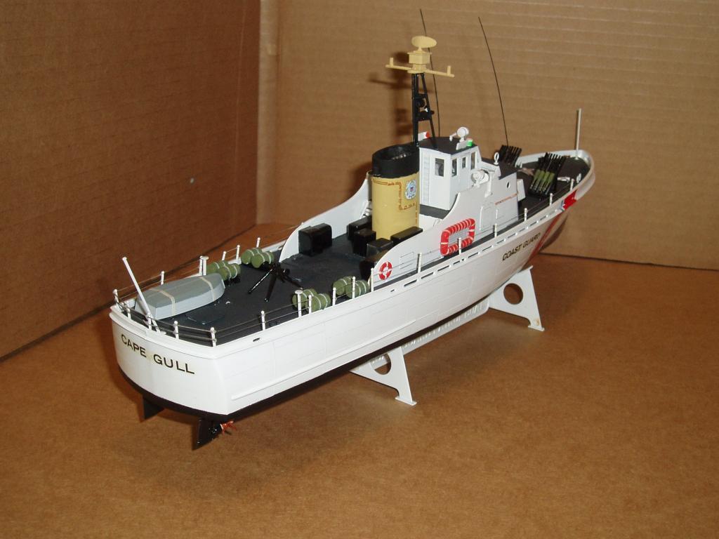 Patrouilleur de la U.S. Coast Guard : le CAPE GULL Lindbe11