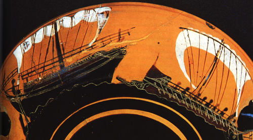 Greek Bireme 6Th Century B.C. 1/72 Dusek D001 - Page 2 Naupeg10