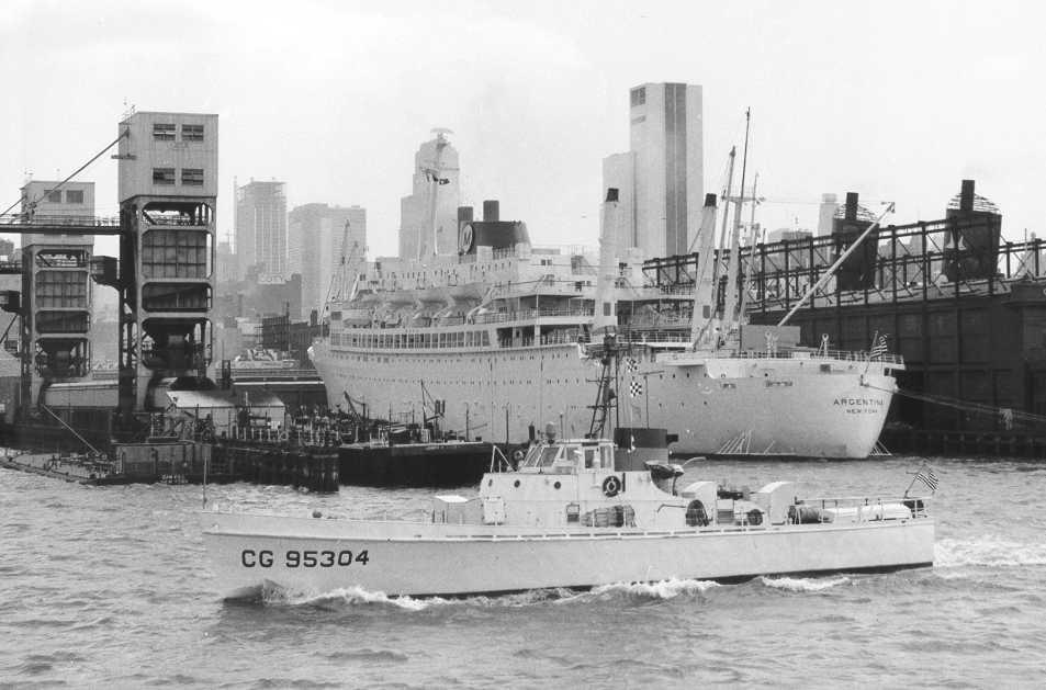 Patrouilleur de la U.S. Coast Guard : le CAPE GULL Uscg_c10