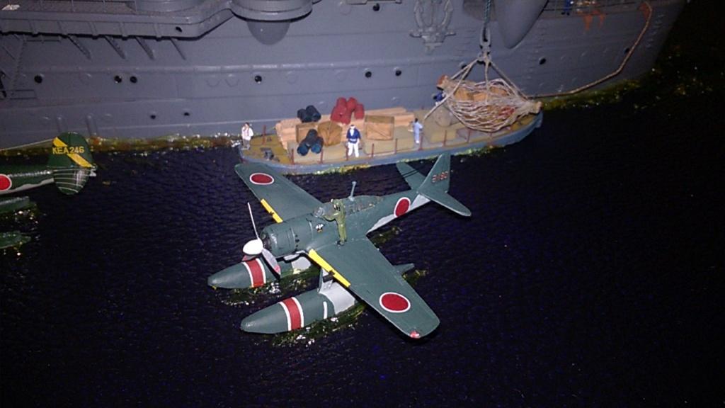 Yamato, un jour de janvier 1945 Modèle RC au 1/150 dans sa vitrine d'exposition - Page 2 Wp_20219