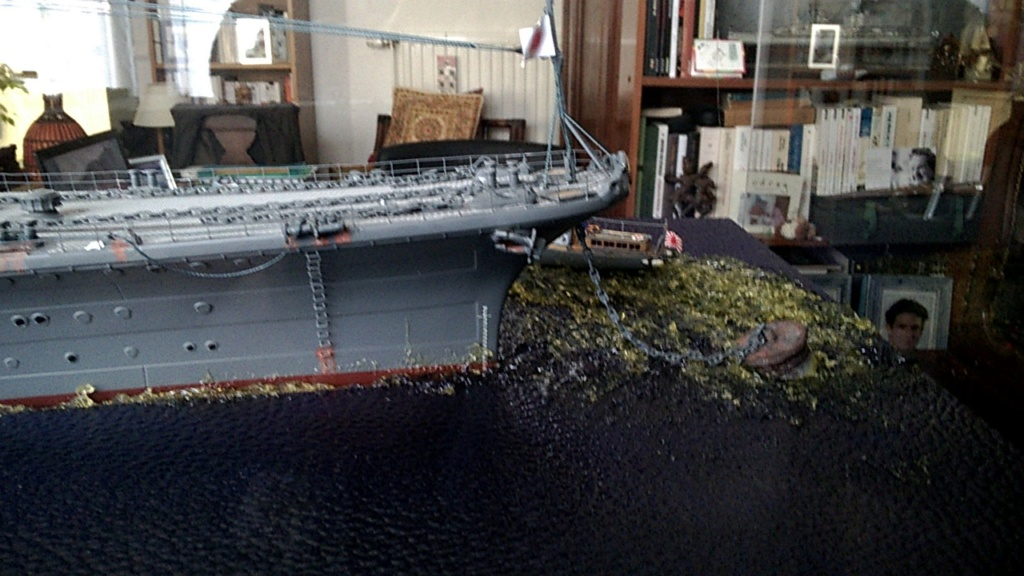 Yamato, un jour de janvier 1945 Modèle RC au 1/150 dans sa vitrine d'exposition - Page 4 Wp_20248
